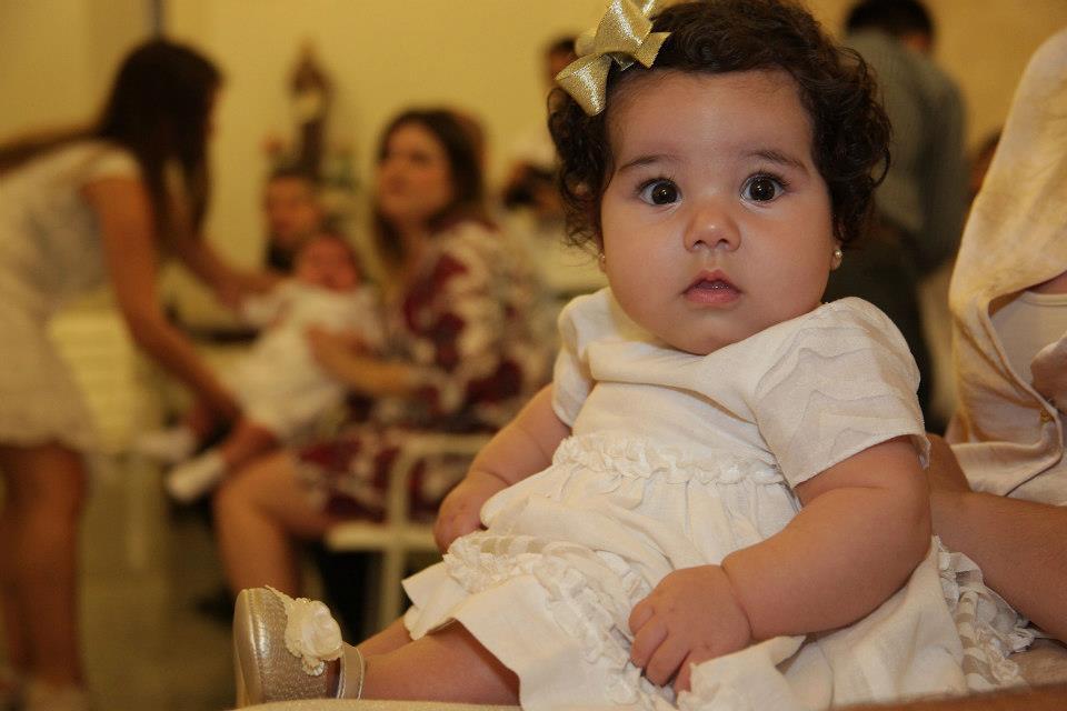Clara com 4 meses <3
