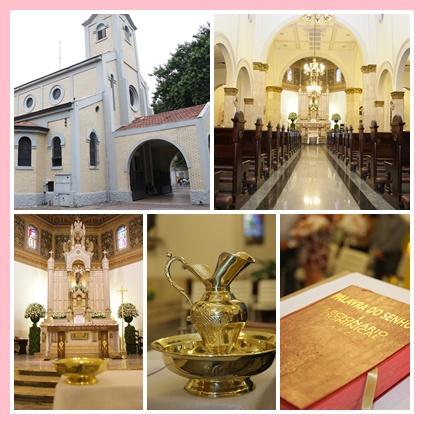 decoração de batizado igreja são josé