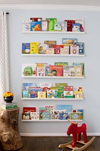 livros no quarto onde achar espa o maternidade colorida. Black Bedroom Furniture Sets. Home Design Ideas