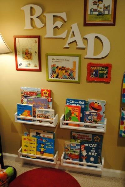 Livros no quarto, onde achar espaço? - Maternidade Colorida