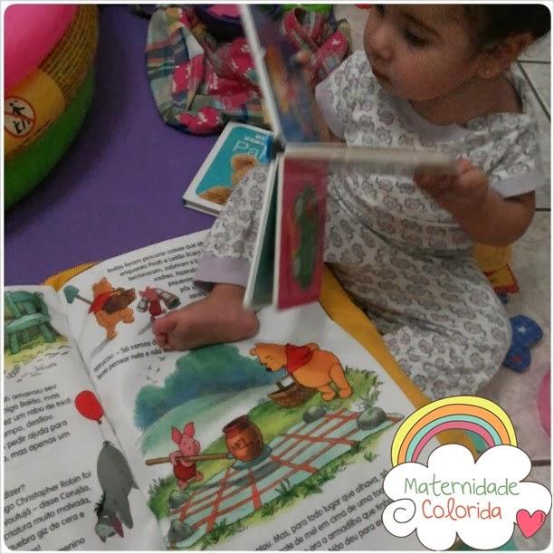 leitura infantil e rodas de histórias maternidade colorida