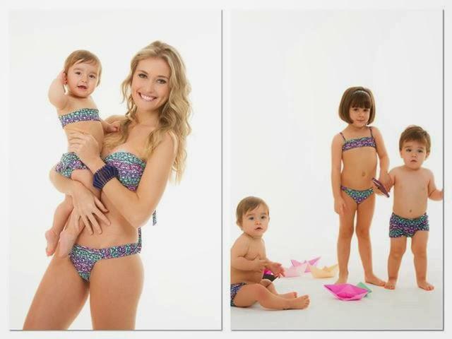 Beachwear: Biquínis pras mamães arrasarem no verão