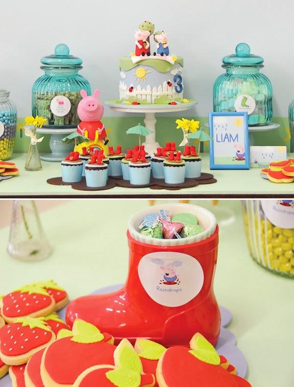 festa infantil peppa pig