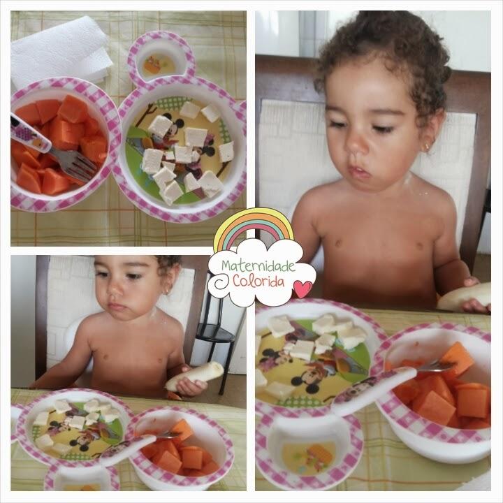 cardápio café da manhã infantil