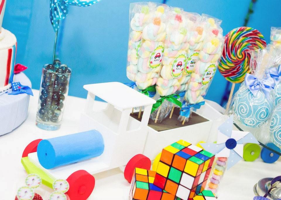 festa infantil tema brinquedos antigos
