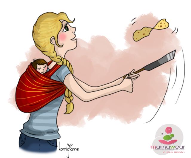 ilustrações maternas