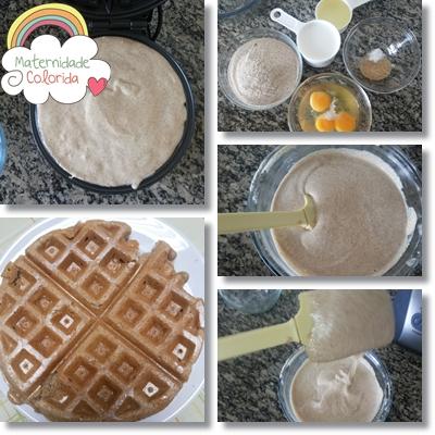 wafle integral sem lactose