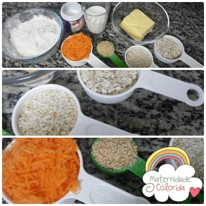 grissini de cenoura, quinua, aveia e gergelim 3