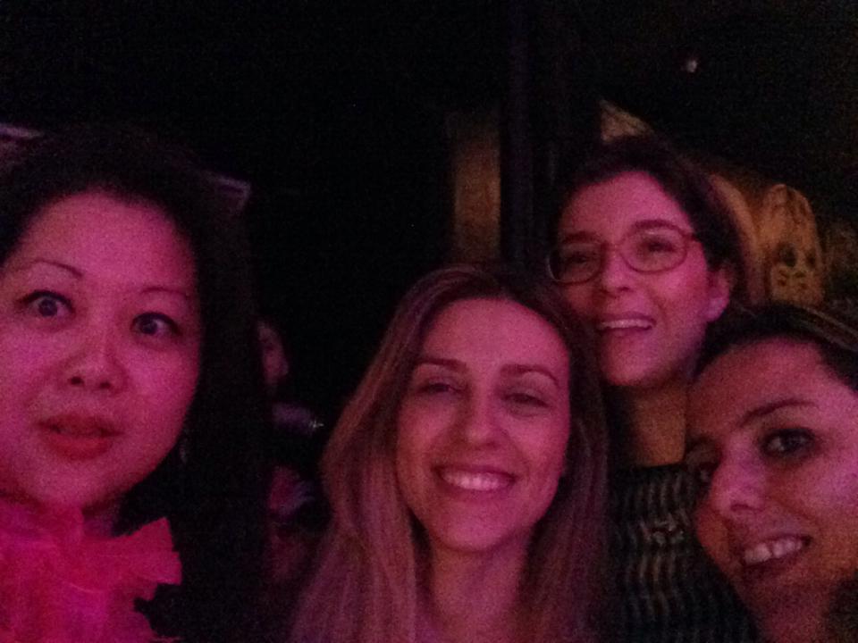 Karen, Rê e Kiki - 4 mães e Euzinha :)