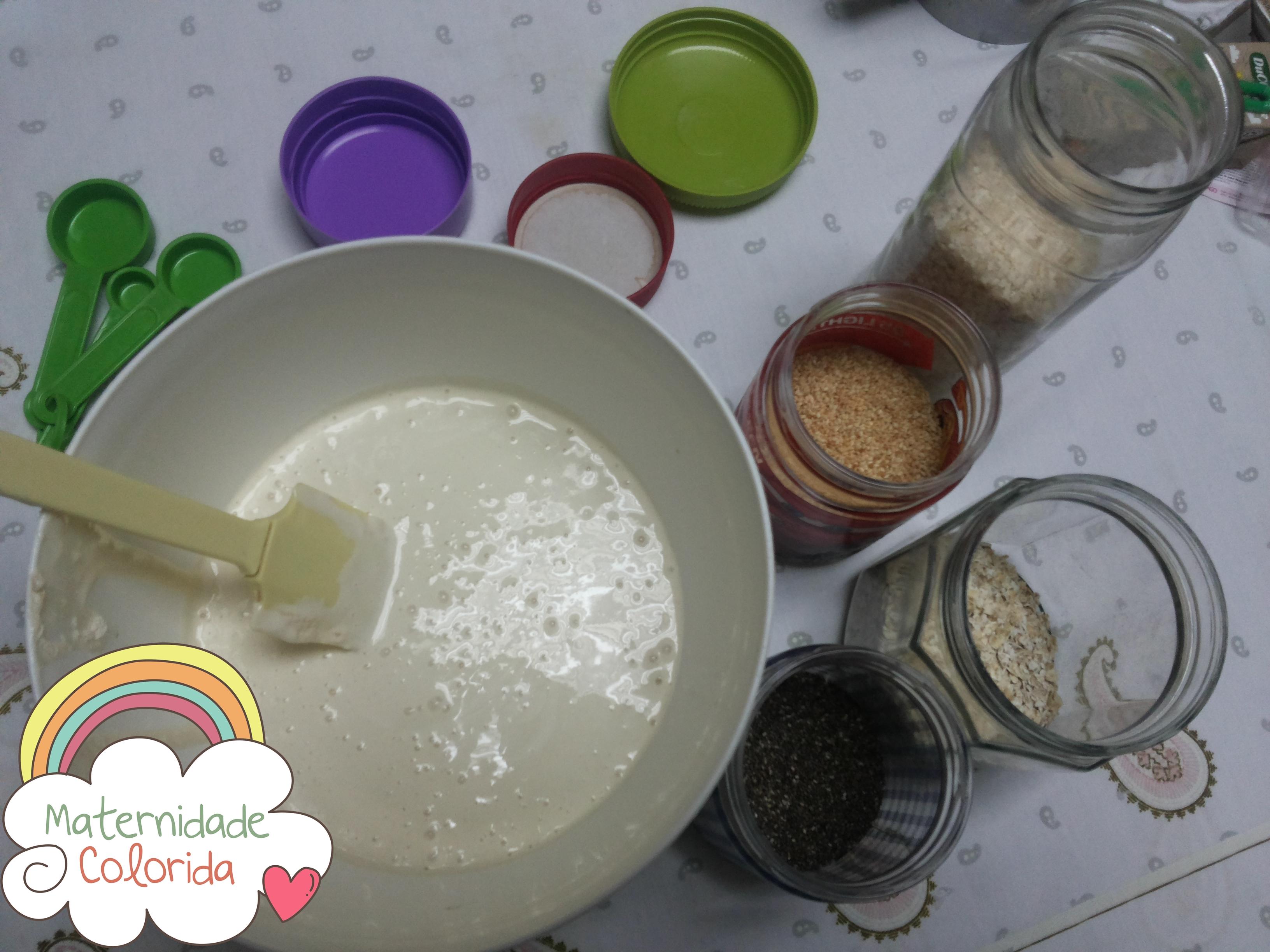 Cupcake de vegetais - maternidade colorida