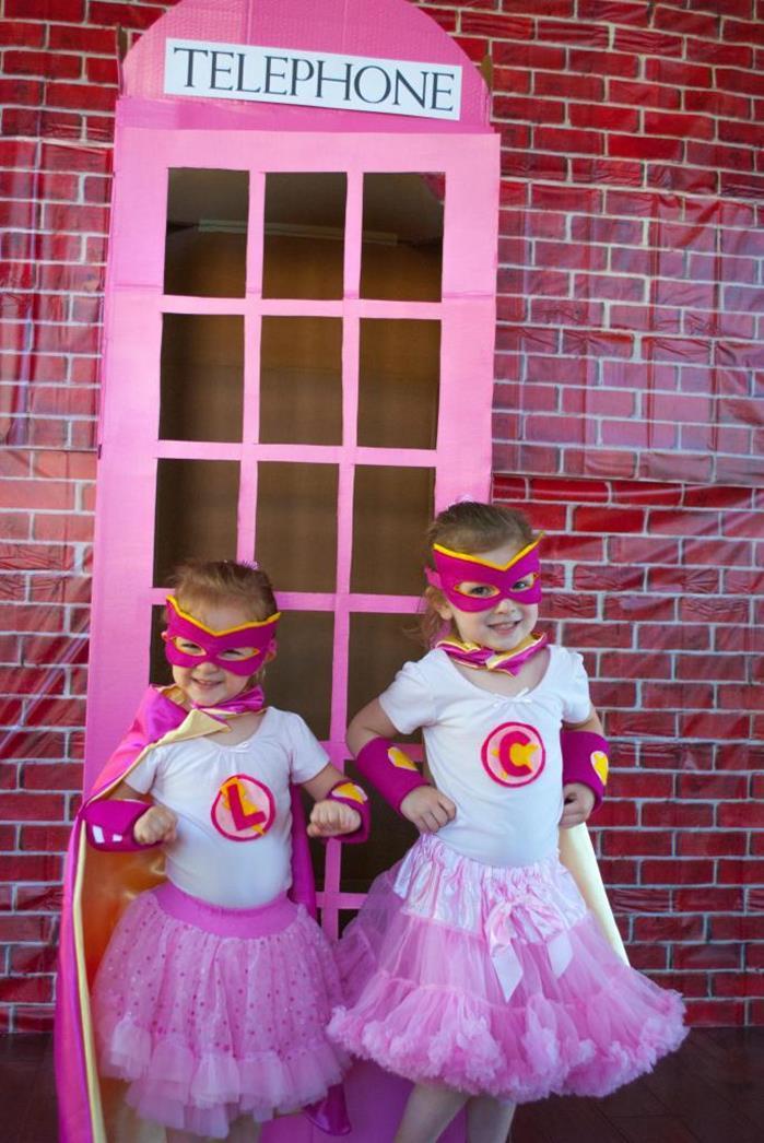 5 festa infantil super heroi
