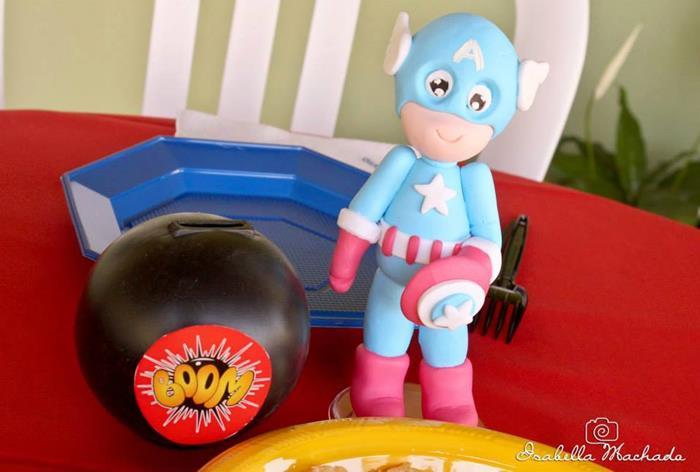 festa infantil super heroi 10