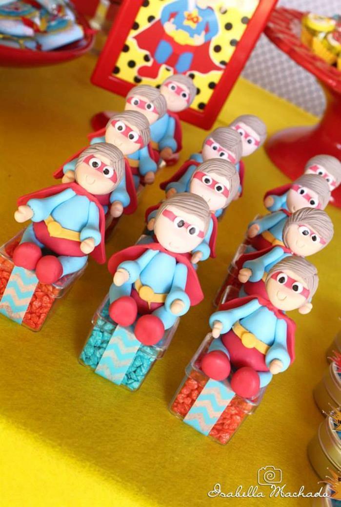 festa infantil super heroi 4