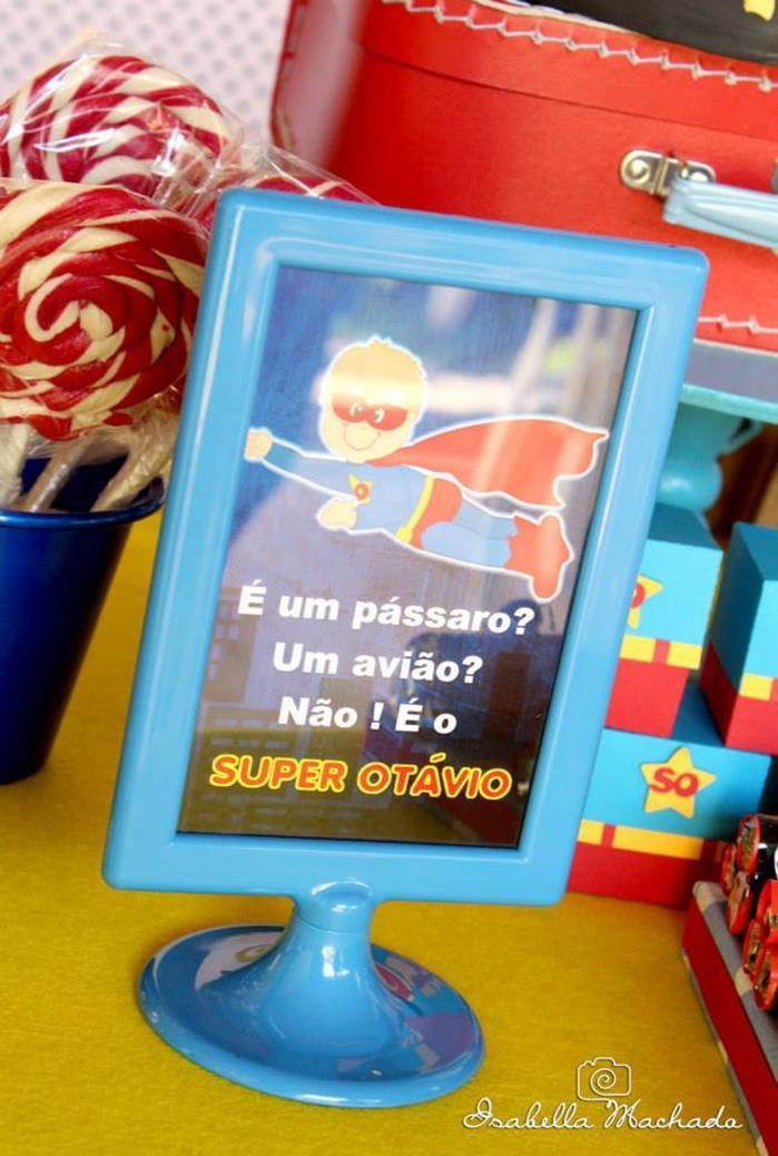 festa infantil super heroi 9