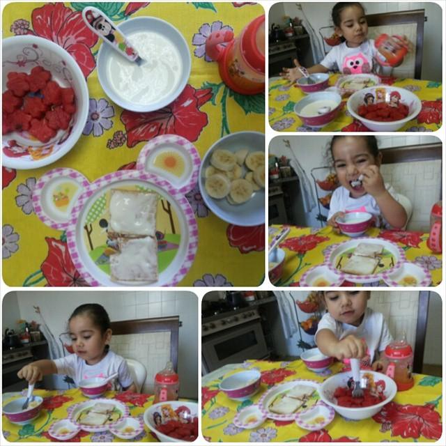como fazer criança comer frutas