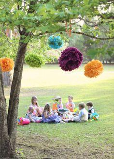 festa infantil pic nic picnic party