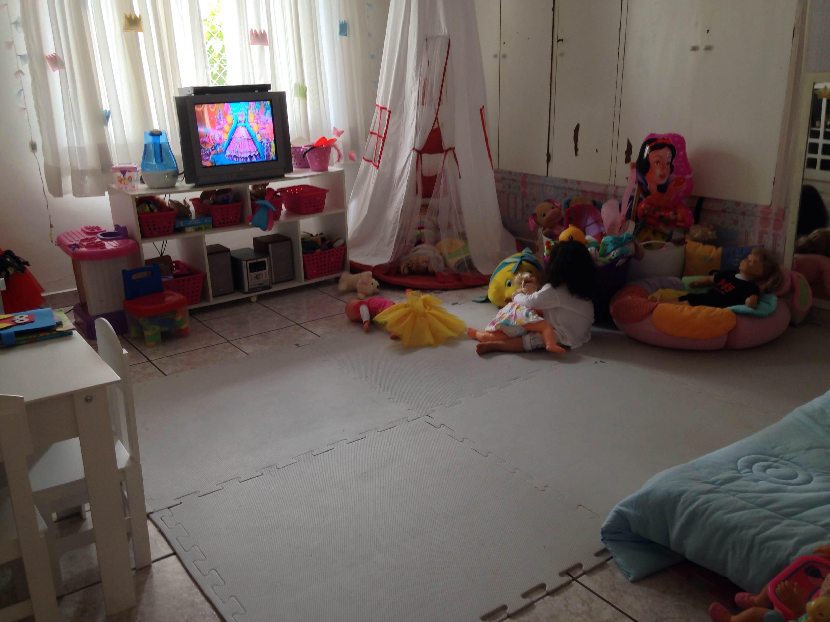 Decoração Infantil Quarto de Princesa  Maternidade Colorida