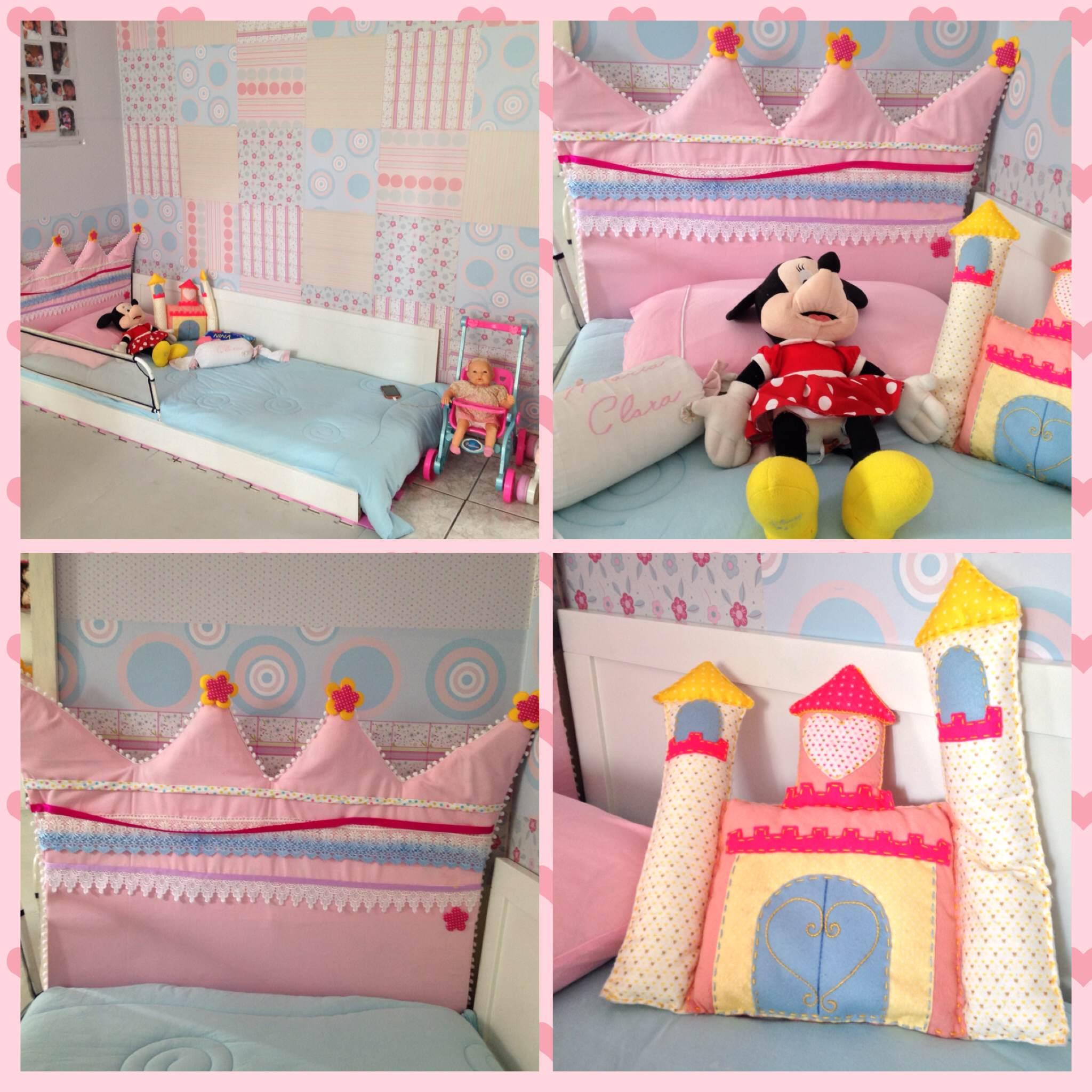decoração quarto princesas