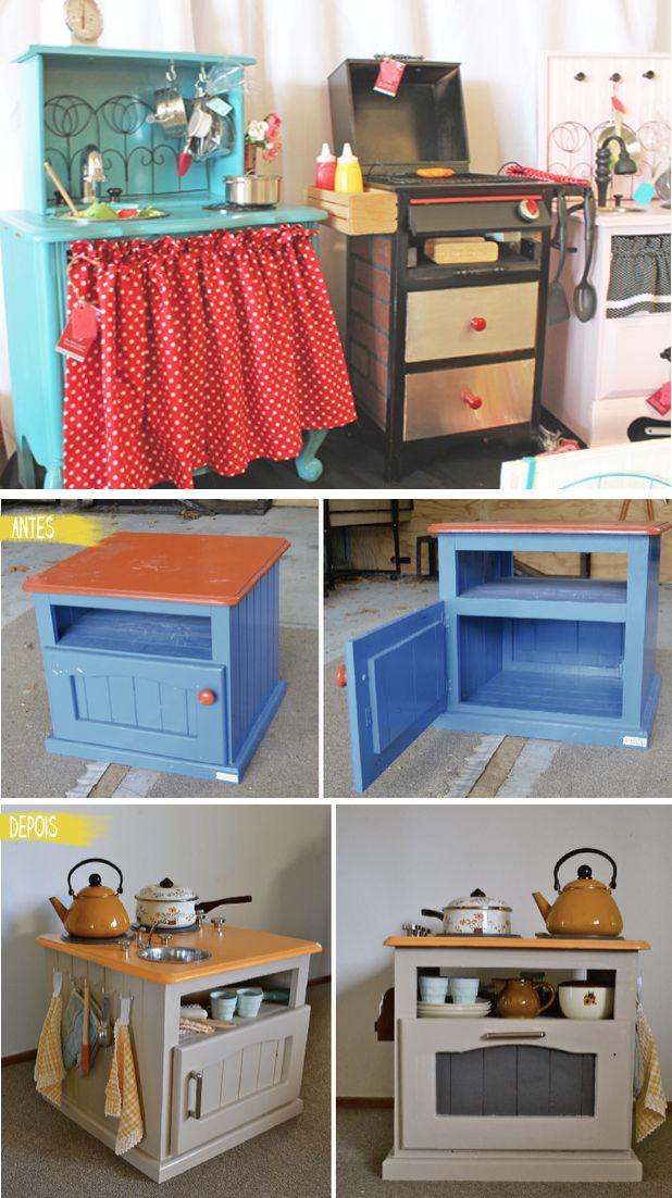 cozinhas para crianças