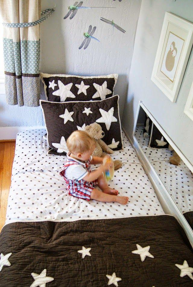 camas para quarto estilo montessoriano