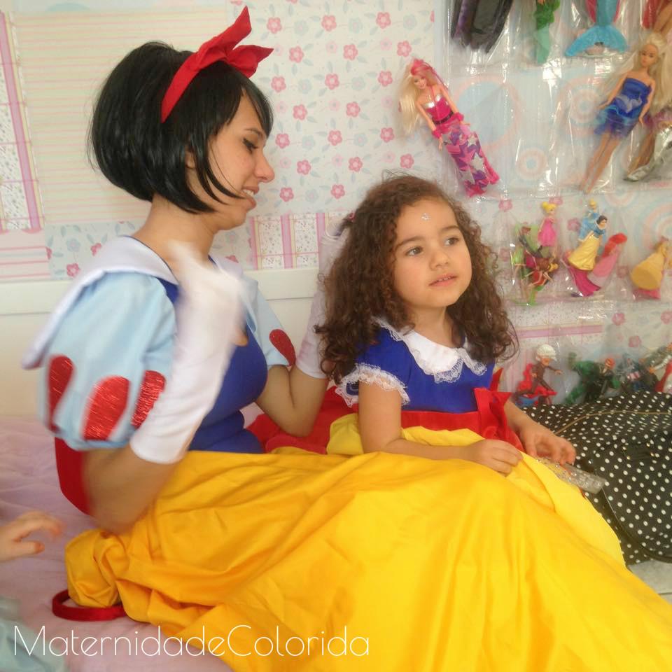 café da manhã com as princesas