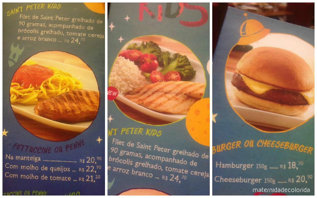 menu kiks america