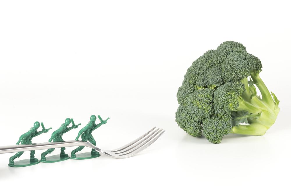 minha filha nao come verdinho