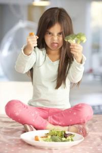 minha filha nao come veridnho