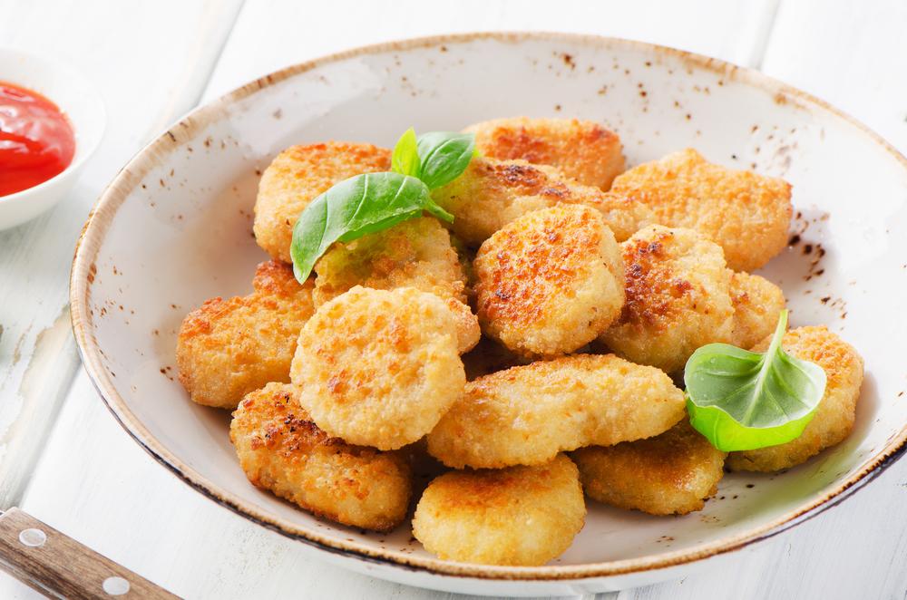 nuggets de frango sem leite, gluten e ovo